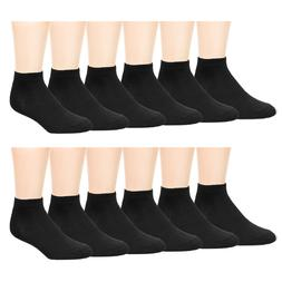 12 Pairs Men Ankle Socks for All Season