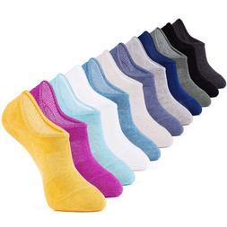 IDEGG 12 Pairs US Women Size 6-12 Women Girls Ankle High Low