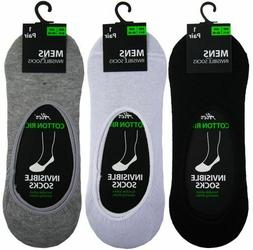 24 Pack Mens/Ladies Invisible Trainer Liner Socks Ankle No S