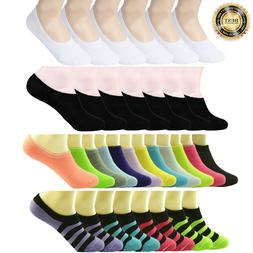 3-12 Pairs Womens Ankle Boat Liner Invisible No Show Low Cut