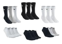 3 PACK NIKE Logo Sports Ankle Socks, Pairs Men's Women's - B