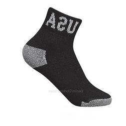 4 8 12 Pairs Lot Men Athletic Sports Cotton Ankle Socks Blac