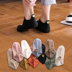 4 Pairs Women Fashion Cotton Socks Embroidery Ankle Socks Sp