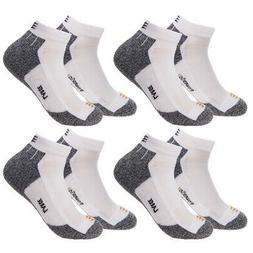 4pk Gold Toe Mens White Ankle Socks Pack Size 10-12 Low Cut
