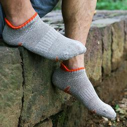 5 Pairs Men's Quick Drying Ankle Socks Soft Sport Outdoor Co
