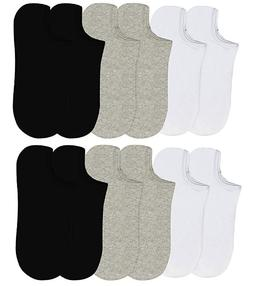 6-12 Packs Ankle Cool Socks Sport Mens Womens Size 10-13 No