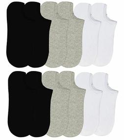 6-12 Packs Ankle Cool Socks Sport Mens Womens Size 9-11 No S