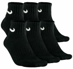 6 Pair NIKE Everyday Cushioned Ankle Socks, Size L - Shoe Me