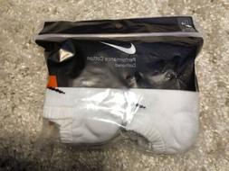 Nike 6 PAIRS PACK Athletic Cushioned NO SHOW ANKLE SOCKS Whi