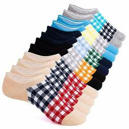 IDEGG 6 Pairs US Women Size 6-12 Women Girls Ankle High Low