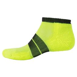 Thorlo 84 Needle Runner Ankle Socks for Men Red or Yellow w/