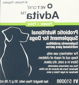 Advita Probiotic Nutritional Supplement for Dogs - 30  Packe