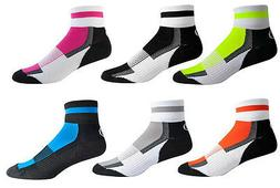 Aero Tech Colorful Coolmax Sock Quarter Crew Socks Made in U