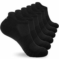 Ankle Athletic Socks Men Women 6 Pack Low Cut Running Sports