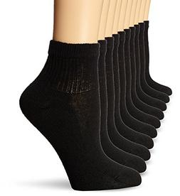 Hanes Ladies Ankle Socks 10 Pack