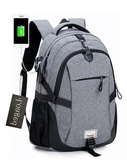Anti-theft Laptop Backpack, Loaged Business Bags with USB Ch