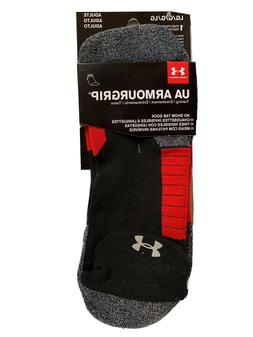 Under Armour Adult Armourgrip No Show Socks with Tab, 1 Pair