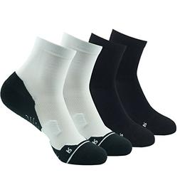 Athletic Crew Running Socks, Huso Mens Womens Anti Blister C