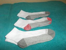 Fruit of the Loom Big Boys' 10 Pack Half Cushion Ankle Socks