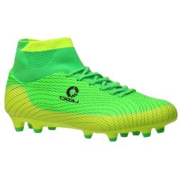 ALEADER Boy's Athletic Soccer Cleats Football Boots Shoes Li