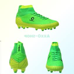 ALEADER Boy's Athletic Soccer Cleats Football Boots Shoes