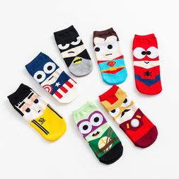 Casual Spring Summer men <font><b>socks</b></font> Cartoon s