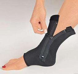 Compression Ankle Support Zippered Neoprene Sleeve Pullover