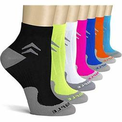 Bluemaple Compression Socks 7 Pair For Women And Men, Ankle