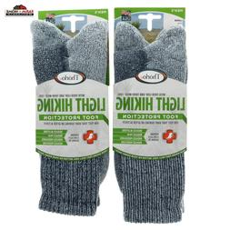 Thorlos Unisex LTH Light Hiking Thick Padded Crew Sock, Navy