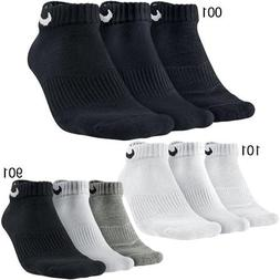 NIKE Performance Cushion Low Training Socks , Multi Color, X