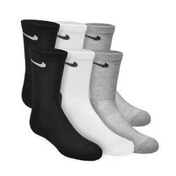 NIKE Unisex Performance Cushion Low Rise Socks with Bag , Bl