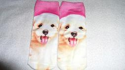 Cute Dog Socks Unisex Clothing Casual Men's Women Ankle Nove