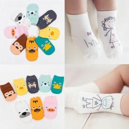 Cute Kids Infant Toddler Baby Ankle Socks Cartoon Animal Ant