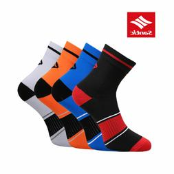 SANTIC Cycling Running Professional Socks Breathable Outdoor