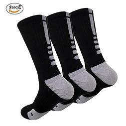 MUMUBREAL Men's Dri-Fit Cushioned Basketball Athletic Sports