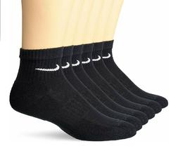 Nike DriFit Performance Cotton Ankle Crew Socks 3, OR 6 PAIR