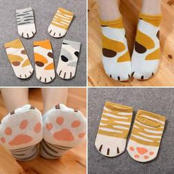 Fashion Kawaii Cotton Socks Cute Cats Claws Ankle Short Sock
