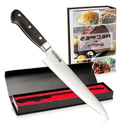 RIGSTYLE German Chef Knife 8 inch, High Carbon Stainless Ste