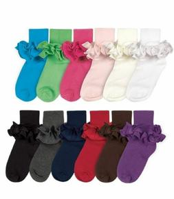 JEFFERIES / COUNTRY KIDS Cotton Ruffle Tutu Ankle Socks NB-1