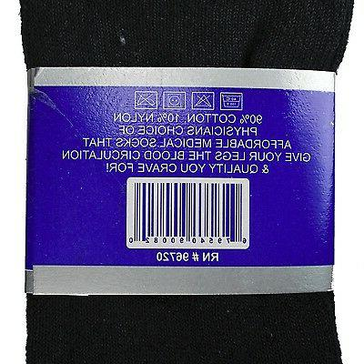 3-12 Quarter Crew Socks Health Cotton Men