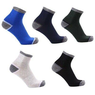 3Pairs Socks Hiking Ankle Cotton