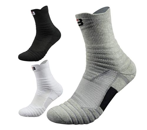 5 Pack Basketball Socks Dri-Fit Crew Socks US