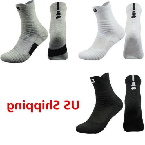 5 pack men s elite basketball socks
