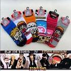 6Pairs Anime Sock ONE PIECE Luffy Chopper Cosplay Short Ankl