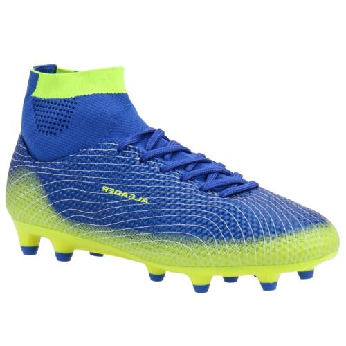 0c7a4699c44 ALEADER Boy s Athletic Soccer Cleats Football Boots Shoes Li