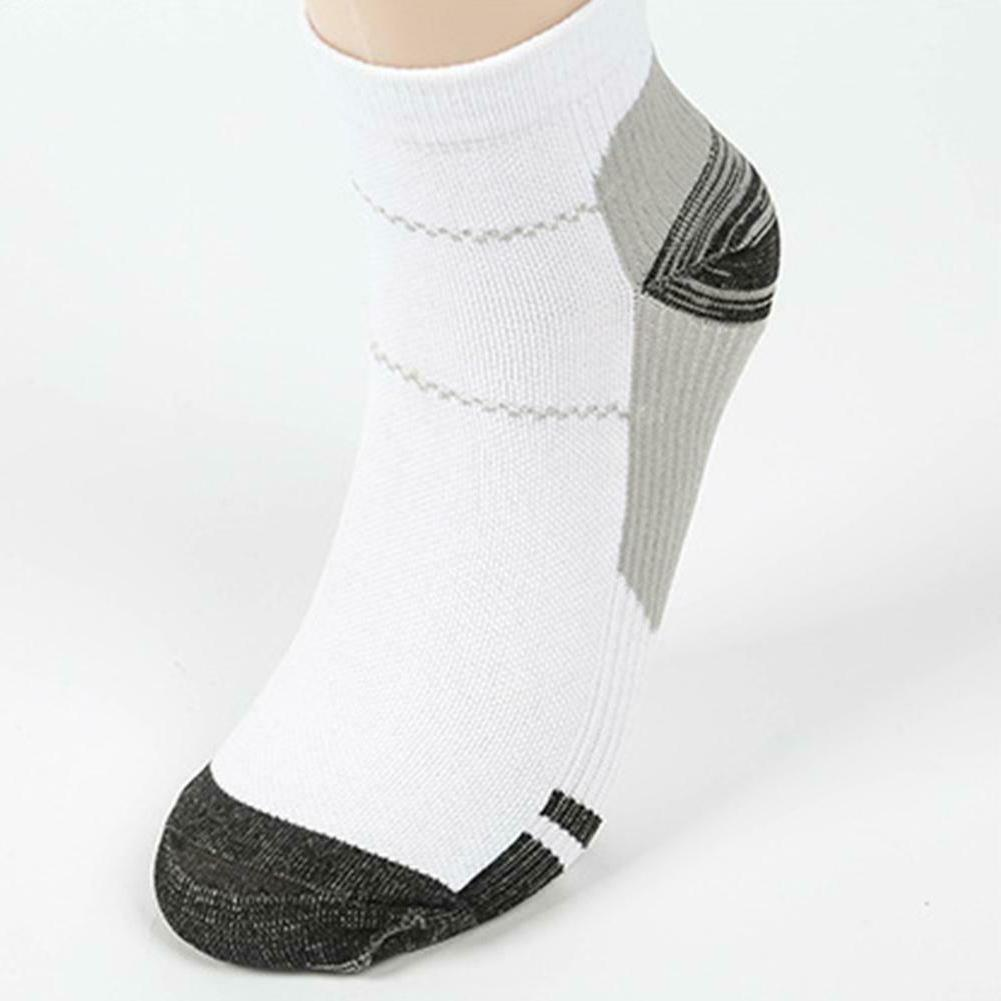 Breathable Compression Outdoor Sports Socks Men Ankle C#P5