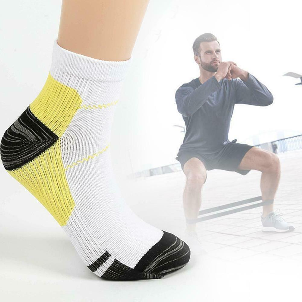 Breathable Compression Outdoor Sports Socks Men Ankle Socks C#P5