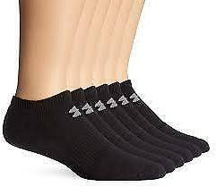 Under Armour Charged Cotton 2.0 6-Pairs Quarter Socks Size M