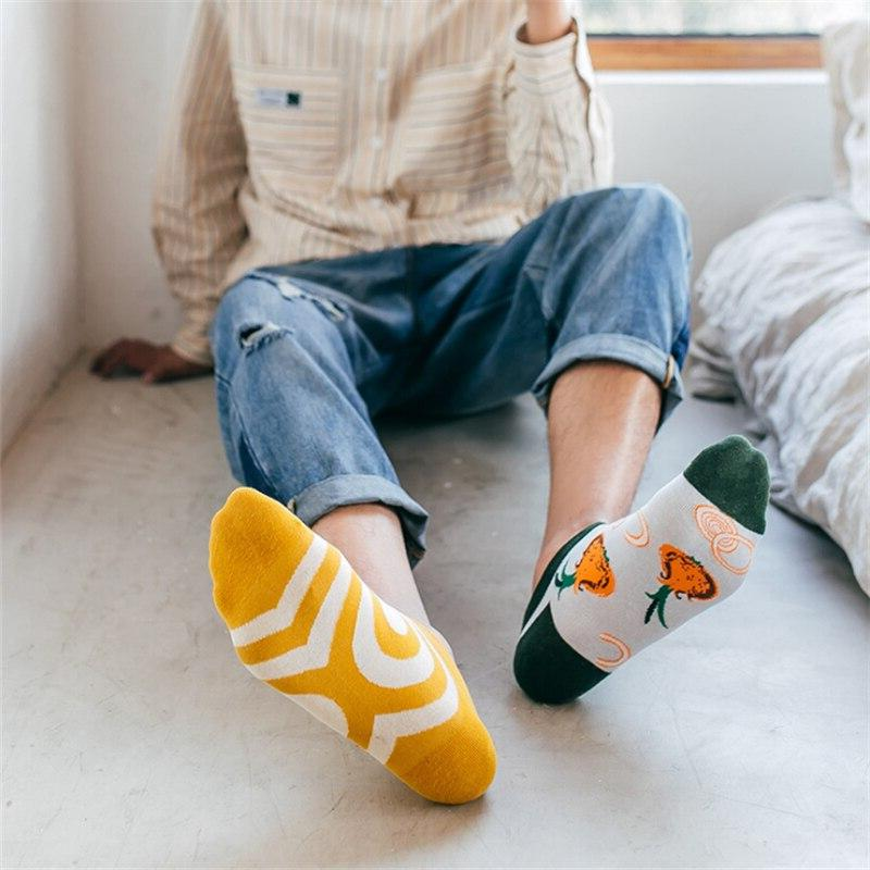Moda Funny <font><b>Men's</b></font> Invisible Cut Ankle <font><b>Sock</b></font> Summer Casual Breathable Short Unisex Coton &women