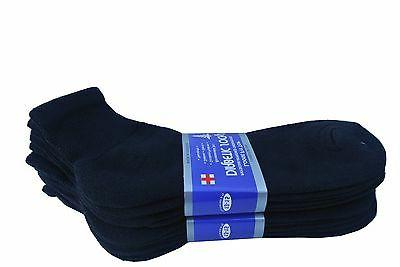Diabetic ANKLE Men's & Women's Cotton ALL 13-15